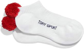 Tory Sport PERFORMANCE COMPRESSION POM-POM SOCKS