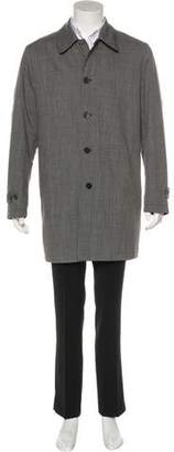 Canali Wool Car Coat