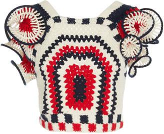 Ulla Johnson Caia crochet top