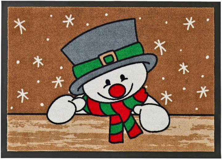 bpc living Fußmatte Snowman