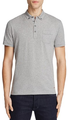 BOSS Orange Playit Slim Fit Polo Shirt $85 thestylecure.com