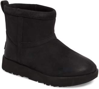 UGG Classic Mini Genuine Shearling Lined Waterproof Boot