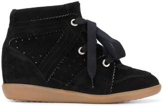 70554fd56255 Isabel Marant Bobby wedge sneakers