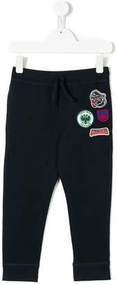 DSQUARED2 badge patch sweatpants