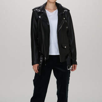 Toga Pulla トーガ プルラ Leather lace−up jacket