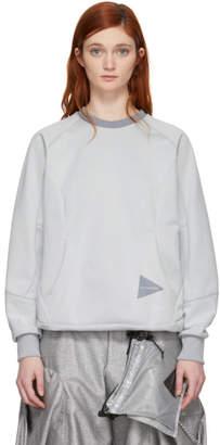 and Wander White Bonding Mesh Pullover Sweatshirt