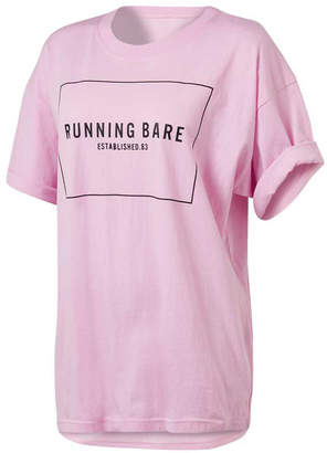 Running Bare Womens Two Tribes 90s Relax Tee