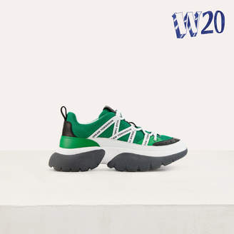 Maje W20 Urban sneakers in nylon