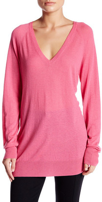 Equipment Asher V-Neck Wool Blend Pullover $228 thestylecure.com