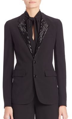Ralph Lauren Collection Yvette Embellished Blazer $2,990 thestylecure.com