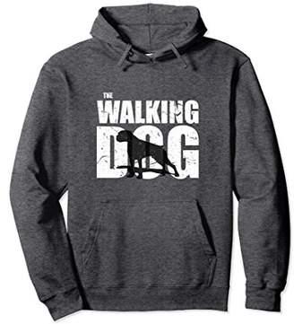 The Walking Boxer Dog Dark Version Funny Cute Hoodie