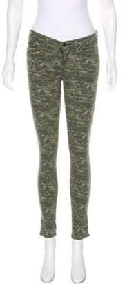 Rag & Bone Camouflage Mid-Rise Jeans