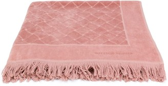 Bottega Veneta intrecciato print beach towel