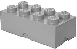 Lego Storage Brick 8 Medium Stone Grey