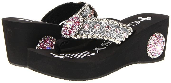 Gypsy SOULE Crystal (Black) - Footwear