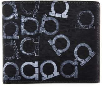 Salvatore Ferragamo Gancini Leather Wallet