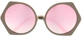 Matthew Williamson oversized round sunglasses