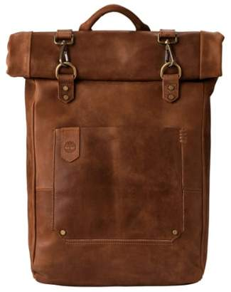 Timberland (ティンバーランド) - Timberland 'Walnut Hill' Leather Backpack