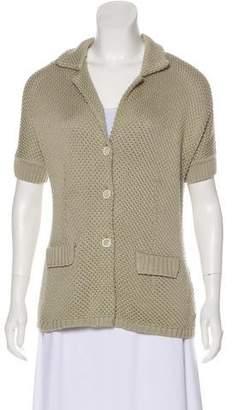 Loro Piana Lightweight Short Sleeve Cardigan