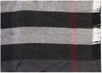 Burberry Merino Wool And Cashmere Scarf
