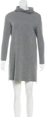 Akris Punto Mock Neck Shift Dress