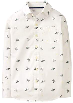 Crazy 8 UFO Print Shirt