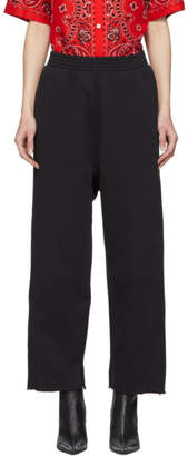 MM6 MAISON MARGIELA Black Cropped Lounge Pants