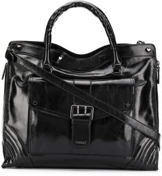 Twin-Set varnished tote bag
