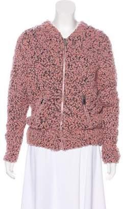 Anine Bing Wool Knit Jacket