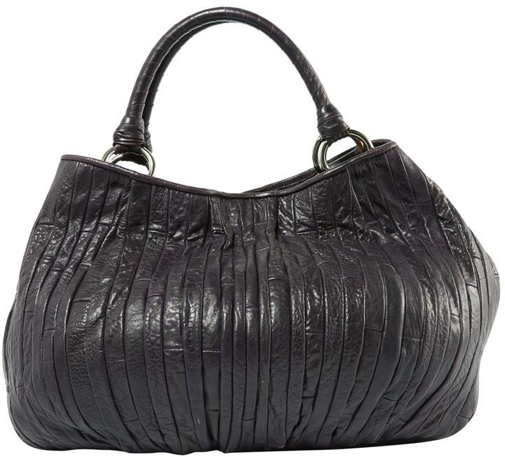Miu MiuQuilted leather handbag