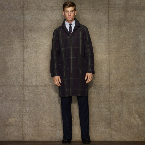 Rugby Tartan Trench