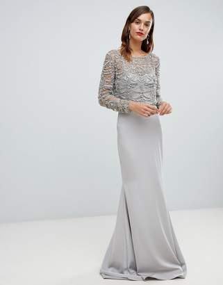 Forever Unique embellished maxi dress