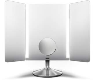 Simplehuman Silvertone Wide-View Sensor Mirror Pro - Dual Magnification