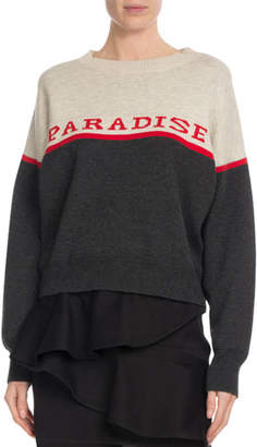Etoile Isabel Marant Kepson Colorblock Graphic Sweater