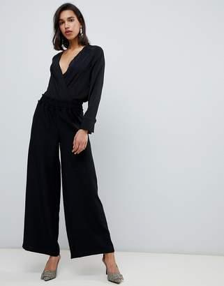 Vero Moda Paperbag High Waist Wide Leg PANTS
