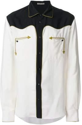 Bottega Veneta embroidered arrow shirt