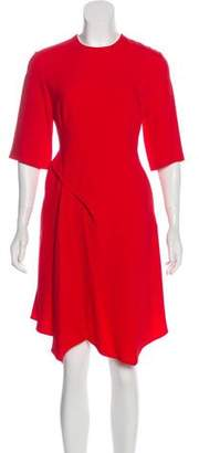 Stella McCartney Asymmetrical A-Line Dress