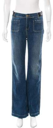 Each X Other Mid-Rise Wide-Leg Jeans
