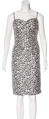 Dolce & Gabbana Silk Floral Dress