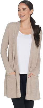 Barefoot Dreams Cozychic Lite Essential Long Cardi with Pockets