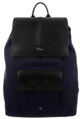 Christian Dior 2019 Motion Backpack navy 2019 Motion Backpack