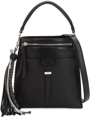 Tod's Small Thea Leather Shoulder Bag