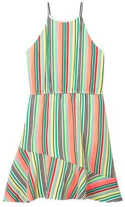 Love...Ady Ruffled Striped Dress (Big Girls)