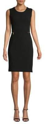 Calvin Klein Side Zip Sheath Dress