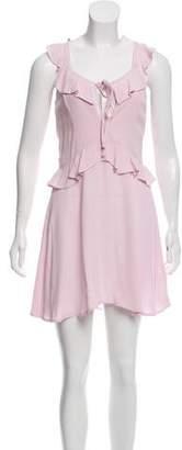 Flynn Skye Ruffled Knee-Length Dress