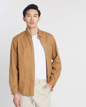 J.Crew Heritage Garment-Dyed Twill Shirt