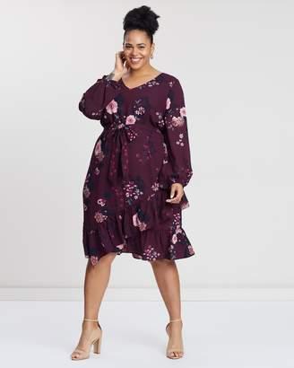 Garden Berry Dress