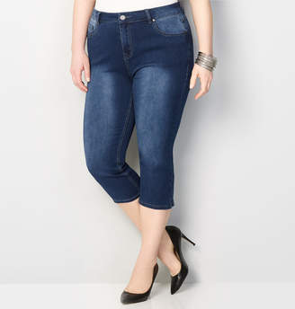 Avenue Butter Denim Capri in Dark Wash