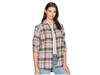 Woolrich Eco Rich Pemberton Boyfriend Shirt Women's Long Sleeve Button Up