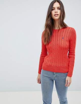 Polo Ralph Lauren Classic Cable Knit Jumper
